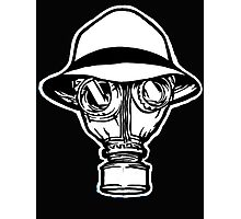 psycho realm gas mask Photographic Print