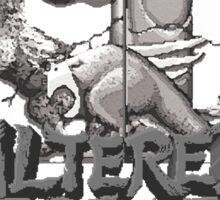 ALTERED BEAST - SEGA ARCADE (2) Sticker