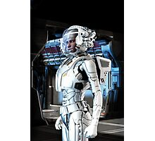 Space Suit Photographic Print