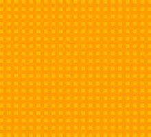 Plaid Design Orange Yellow by Vitta