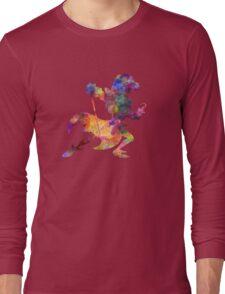 Captain Hook in watercolor Long Sleeve T-Shirt