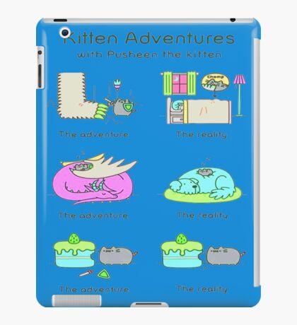 pussies adventure iPad Case/Skin