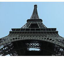 From under the Eiffel Tower Photographic Print
