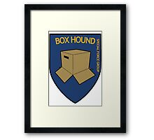 BOX HOUND SPECIAL FORCE - METAL GEAR SOLID Framed Print
