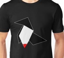 Bird Origami Unisex T-Shirt