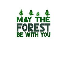 May The Forest Be With You Photographic Print