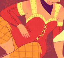 Sera Was Never An Agreeable Girl Sticker