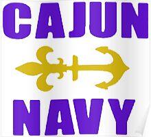 Cajun Navy Louisiana Poster