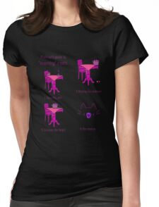 pussies adventure Womens Fitted T-Shirt