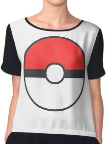 Pokemon Ball Chiffon Top