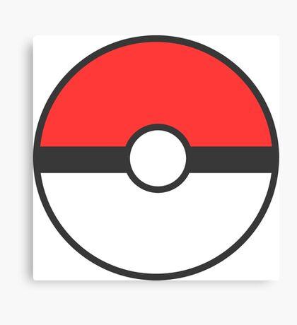 Pokemon Ball Canvas Print