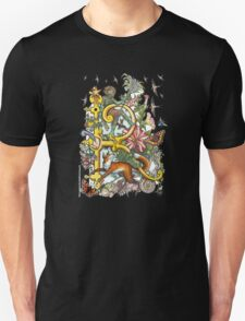 """The Illustrated Alphabet Capital  R  """"Getting personal"""" from THE ILLUSTRATED MAN Unisex T-Shirt"""