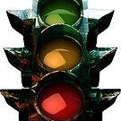 traffic light by geot