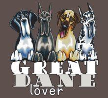 Great Dane Lover (Dark) Kids Clothes