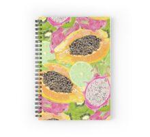 fruit pattern Spiral Notebook