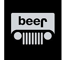 Jeep - Beer Photographic Print