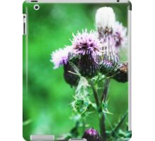 Thistle-in' a Second Tune iPad Case/Skin