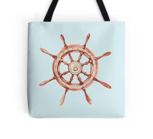 Watercolor wood wheel Tote Bag