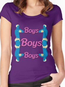 BOYS BOYS BOYS Women's Fitted Scoop T-Shirt