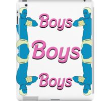 BOYS BOYS BOYS iPad Case/Skin