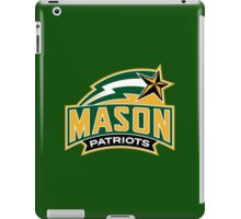 GEORGE MASON PATRIOTS UNIVERSITY iPad Case/Skin