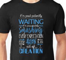 Hamilton Musical Quote. I'm past... Unisex T-Shirt
