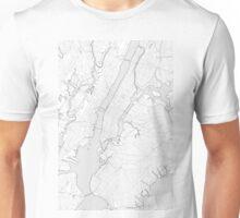 New York City sketch map Unisex T-Shirt