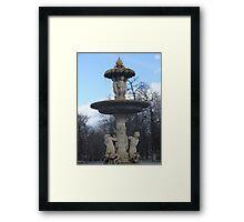 Fantastic fountain Framed Print
