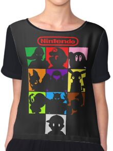 I'm a Nintendo Fan Chiffon Top
