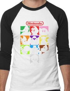 I'm a Nintendo Fan Men's Baseball ¾ T-Shirt