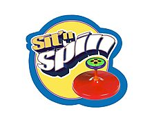 sit n spin Photographic Print
