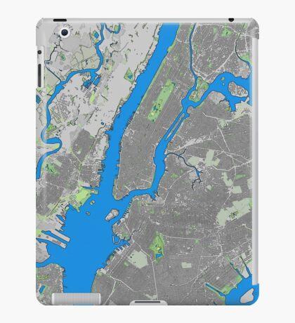 New York City building map iPad Case/Skin