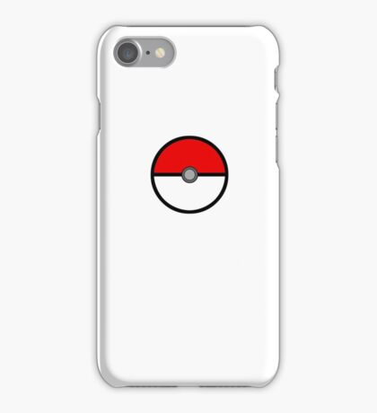 Monster Capture Device iPhone Case/Skin