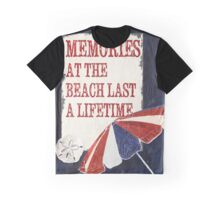 Indigo Beach Time 3 Graphic T-Shirt