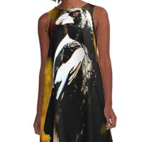 Indie Solo Magpie A-Line Dress