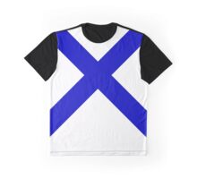 Blue X Graphic T-Shirt