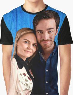 Jennifer Morrison & Colin O'donoghue Graphic T-Shirt