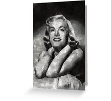 Lizabeth Scott Hollywood Actress Greeting Card