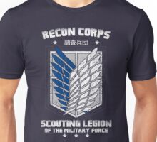 RECON CORPS. - Attack on Titans Unisex T-Shirt