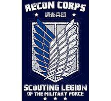 RECON CORPS. - Attack on Titans Photographic Print