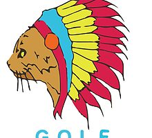 Golf Wang Native Cat by emmagroves