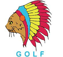 Golf Wang Native Cat Photographic Print