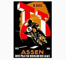 """MOTORCYCLE GRAND PRIX"" Vintage RACING Advertising Print Unisex T-Shirt"