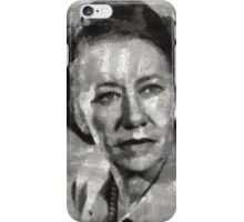 Flora Robson Hollywood Actress iPhone Case/Skin