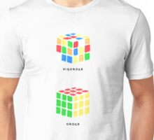 Rubiks Cubes (black text) Unisex T-Shirt