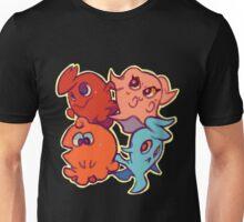 Cutie Pac-Man Ghosts Unisex T-Shirt