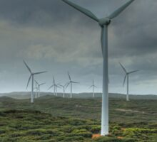 Wind Farm, Albany, Western Australia Sticker