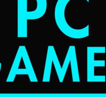 Pc Gaming (Blue) Sticker
