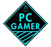 Pc Gaming (Blue) Photographic Print