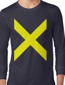 Yellow X Long Sleeve T-Shirt